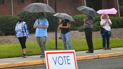 El voto adelantado por la pandemia bate récord en EE.UU.: más de 17 millones ya han participado en las elecciones