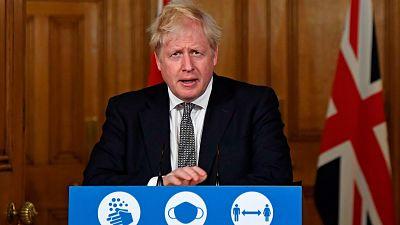 Johnson decreta un nuevo confinamiento en Inglaterra y cierra negocios no esenciales durante cuatro semanas