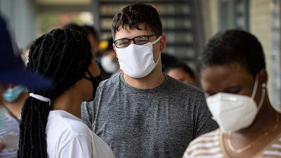 La escalada del coronavirus en EE.UU. lleva a republicanos y demócratas a pedirle a Trump que use la mascarilla