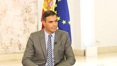 Sánchez anuncia que estará en la mesa de diálogo sobre Cataluña que se celebrará este miércoles