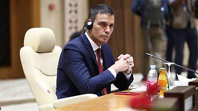 """Sánchez ve """"desajustada"""" la decisión de Reino Unido de desaconsejar los viajes a España e imponer cuarentena"""