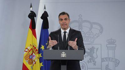 """Sánchez anuncia que la vuelta del público a los estadios será """"homogénea"""" en toda España"""