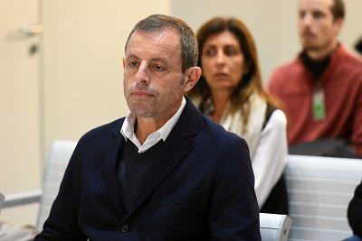 Sandro Rosell, absuelto en el caso de blanqueo de comisiones tras pasar dos años en prisión preventiva