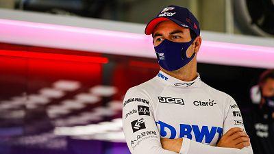 Sergio Pérez da positivo de nuevo y le sustituirá Hülkenberg en Silverstone