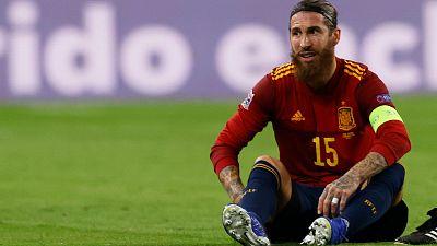 Sergio Ramos sufre una lesión en el bíceps femoral; es baja contra el Villarreal y casi descartado para enfrentarse al Inter