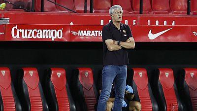 """Setién: """"Es muy difícil que el Madrid gane los siete partidos que quedan"""""""
