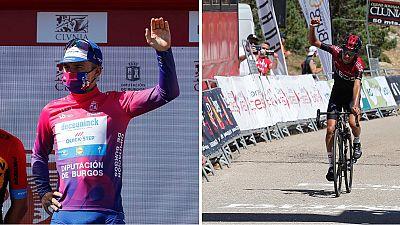 Evenepoel gana la Vuelta a Burgos y Sosa logra la última etapa en las Lagunas de Neila