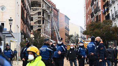 """Testigos de la explosión en Madrid: """"Estábamos comiendo y se nos ha caído la pared"""""""