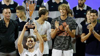 Dominic Thiem se lleva el torneo benéfico organizado por Djokovic