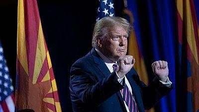 """Trump amenaza a Irán con un ataque """"mil veces"""" mayor si ataca a EE.UU."""