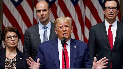 """Trump asegura que EE.UU. ha """"superado en gran medida"""" la pandemia y presume de la """"fortaleza de su economía"""""""