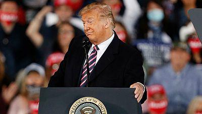 """Trump asegura que """"si no fuera por él habría millones de muertos de COVID-19 en EE.UU."""""""