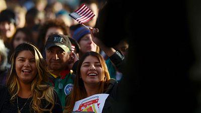 Donald Trump y Kamala Harris compiten por el voto latino en el estado clave de Arizona