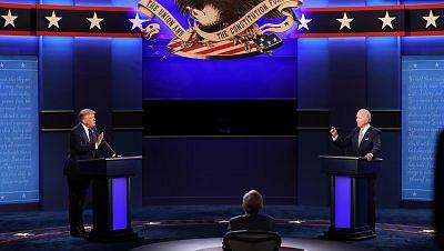 Trump se niega a un debate virtual con Biden y pide aplazarlo para que sea cara a cara