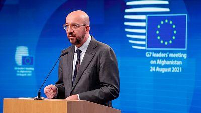La UE acuerda ayudar a los países fronterizos con Afganistán para evitar una crisis migratoria
