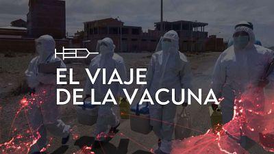 El viaje de la vacuna: un recorrido virtual por los cinco continentes