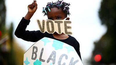 El voto afromericano, el arma contra el racismo sistémico en EE.UU. tras un verano de protestas raciales