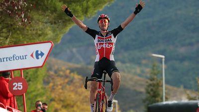 Wellens gana en Sabiñánigo y recoge el premio a su combatividad