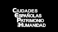 Logotipo de 'Ciudades españolas Patrimonio de la Humanidad'