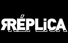 Logotipo de 'Réplica'