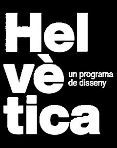 Logotipo de 'Helvètica'