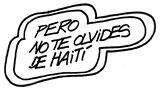 No te olvides de Haití