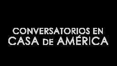 Logotipo de 'Conversatorios en Casa de América'