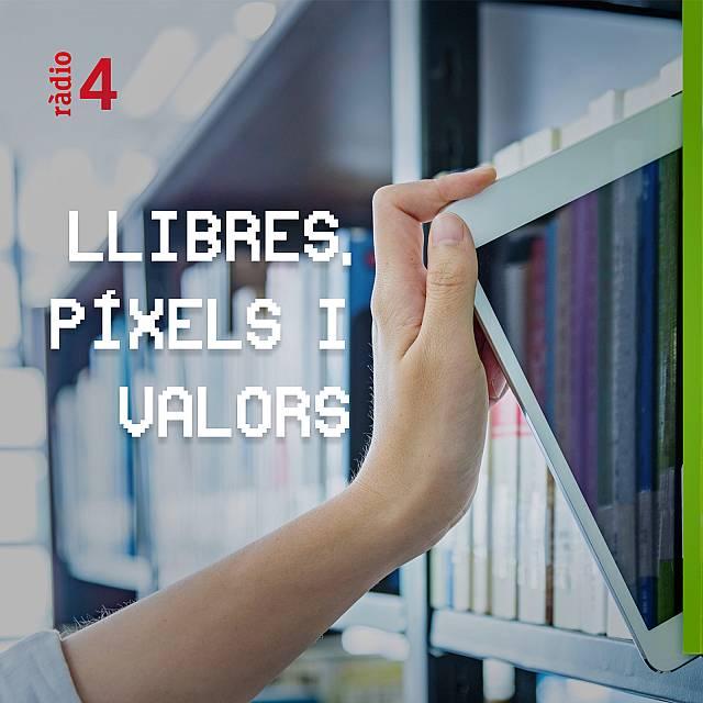 Llibres, píxels i valors con Rosa de Diego