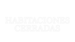 Logotipo de 'Habitaciones cerradas'