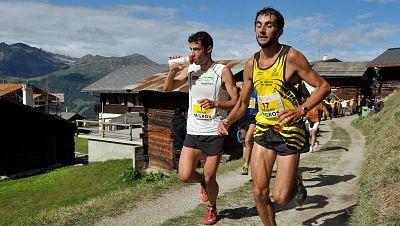 Carrera de montaña