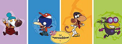 Los Superminihéroes en inglés