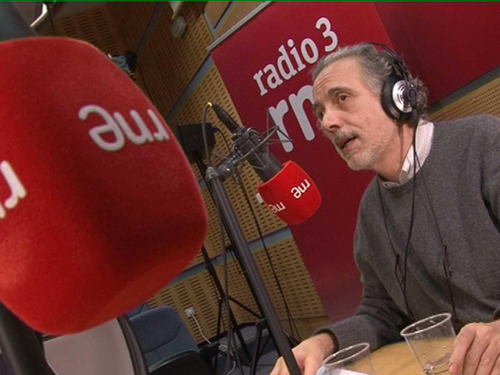 Fernando Trueba, locutor de Radio 3