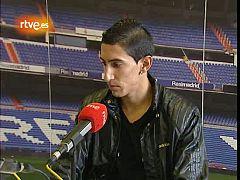 Entrevista al jugador del  Real Madrid, Ángel Di María