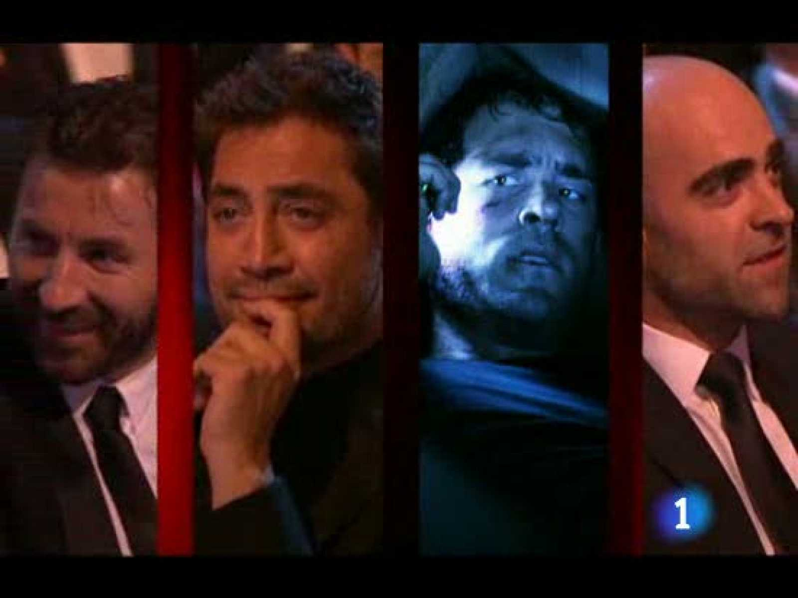 Jimmy Jump se cuela en los Goya justo antes del premio al mejor actor.