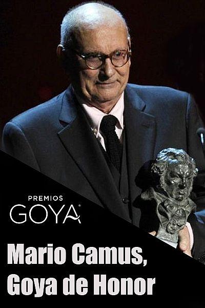 Mario Camus recibe el Goya de Honor y rinde homenaje al oficio del cine