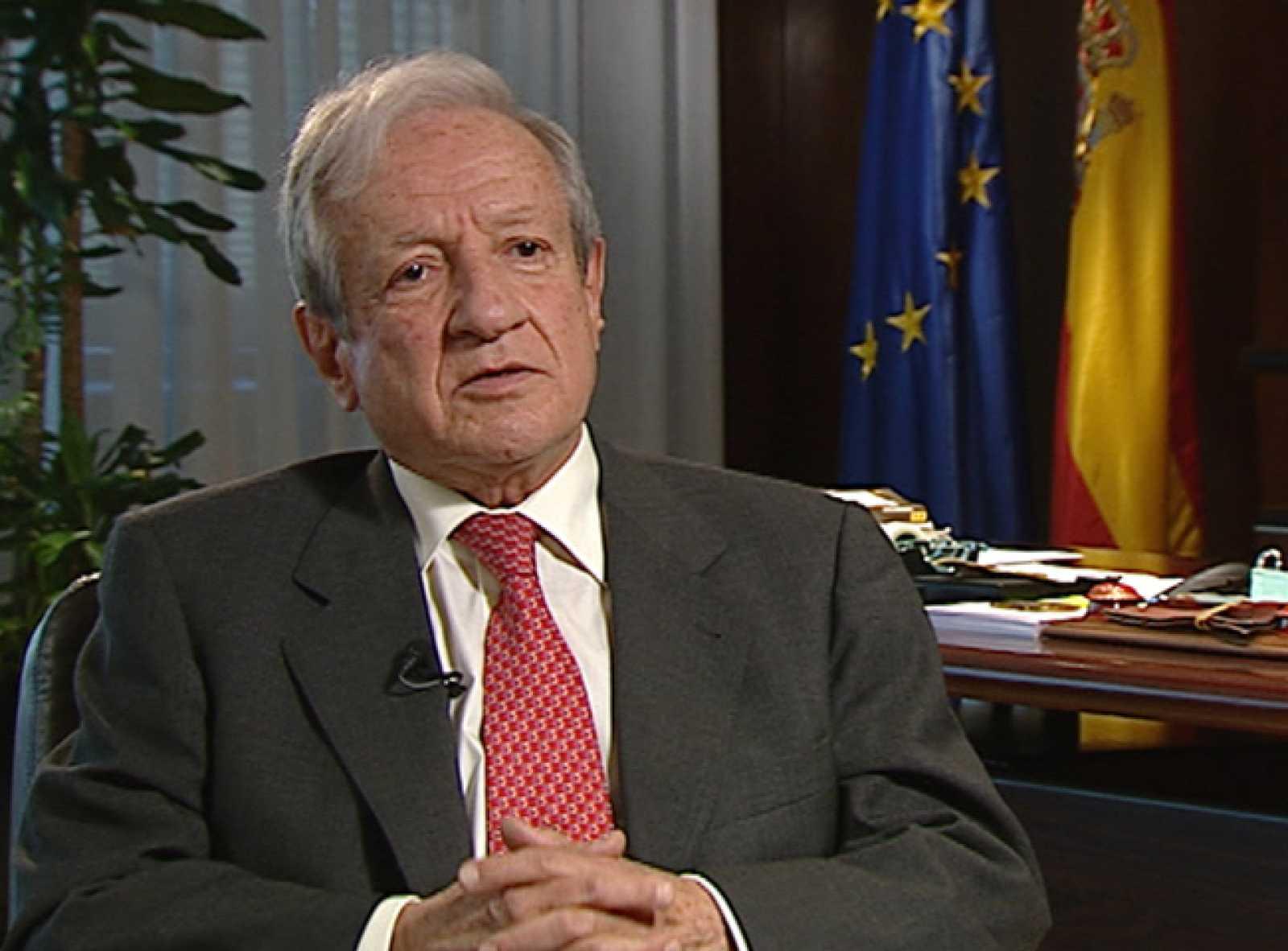 Primera entrevista que concede a una televisión el presidente del Tribunal Constitucional