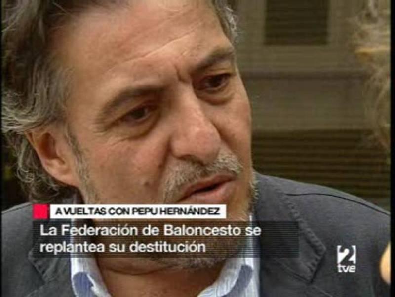 Pepu Hernández podría ser destituido