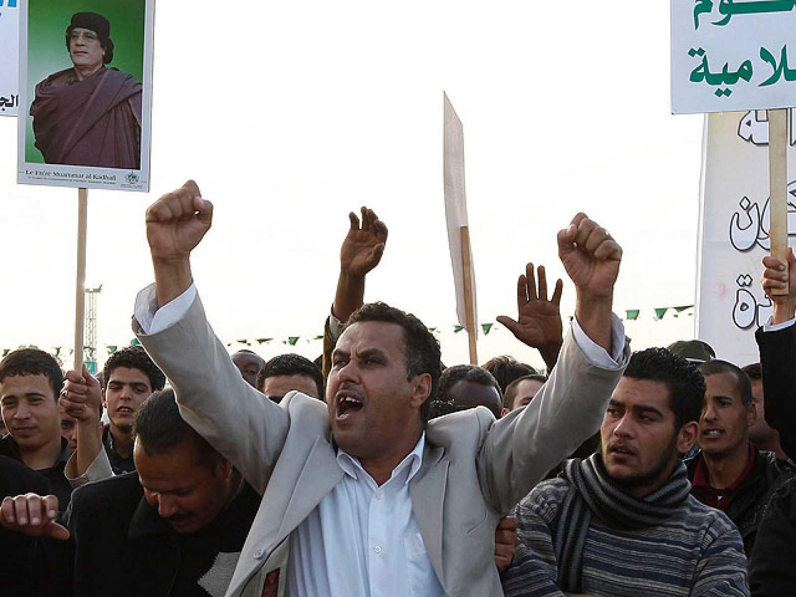 Al menos 38 personas han resultado heridas en las manifestaciones en Libia