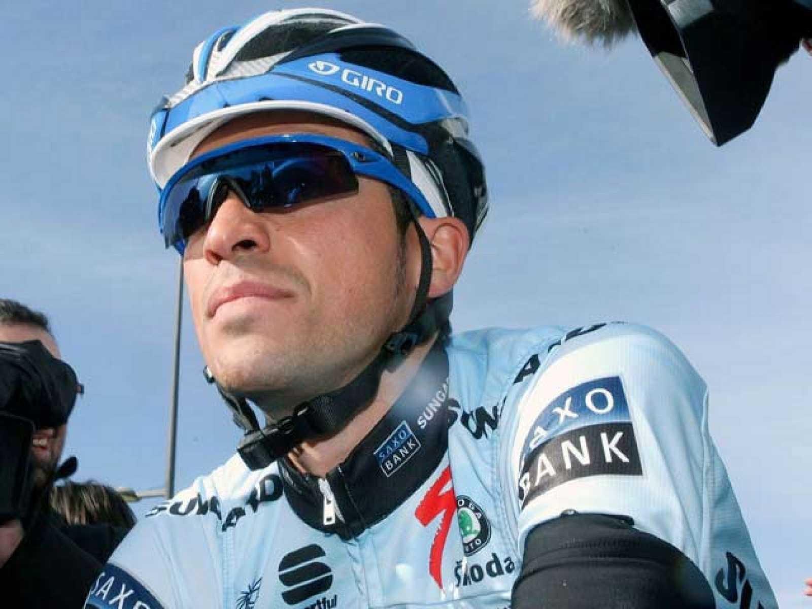 Después de la suspensión de seis meses, Alberto Contador ha vuelto a subirse a una bicicleta para competir en la Vuelta al Algarve.