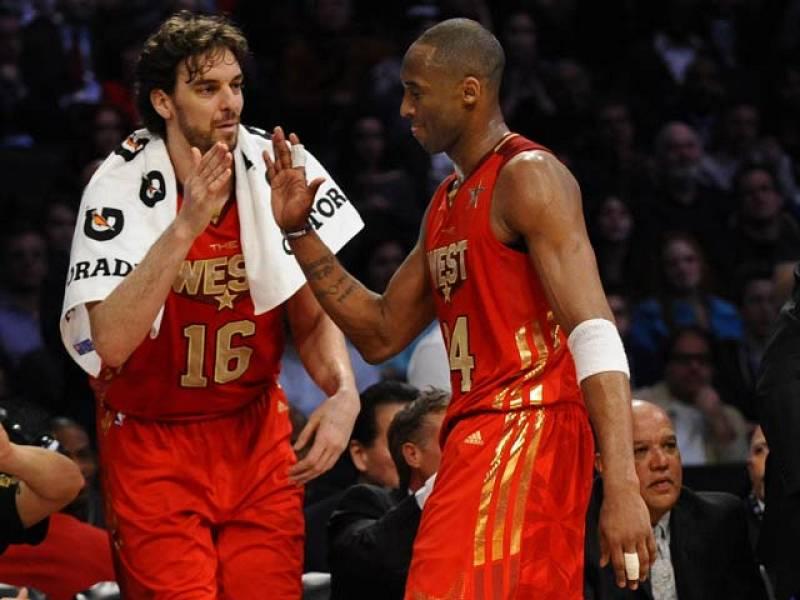 El escolta angelino Kobe Bryant fue elegido por cuarta vez el mejor del All Star Game.