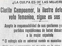 Estravagario - Clara Campoamor