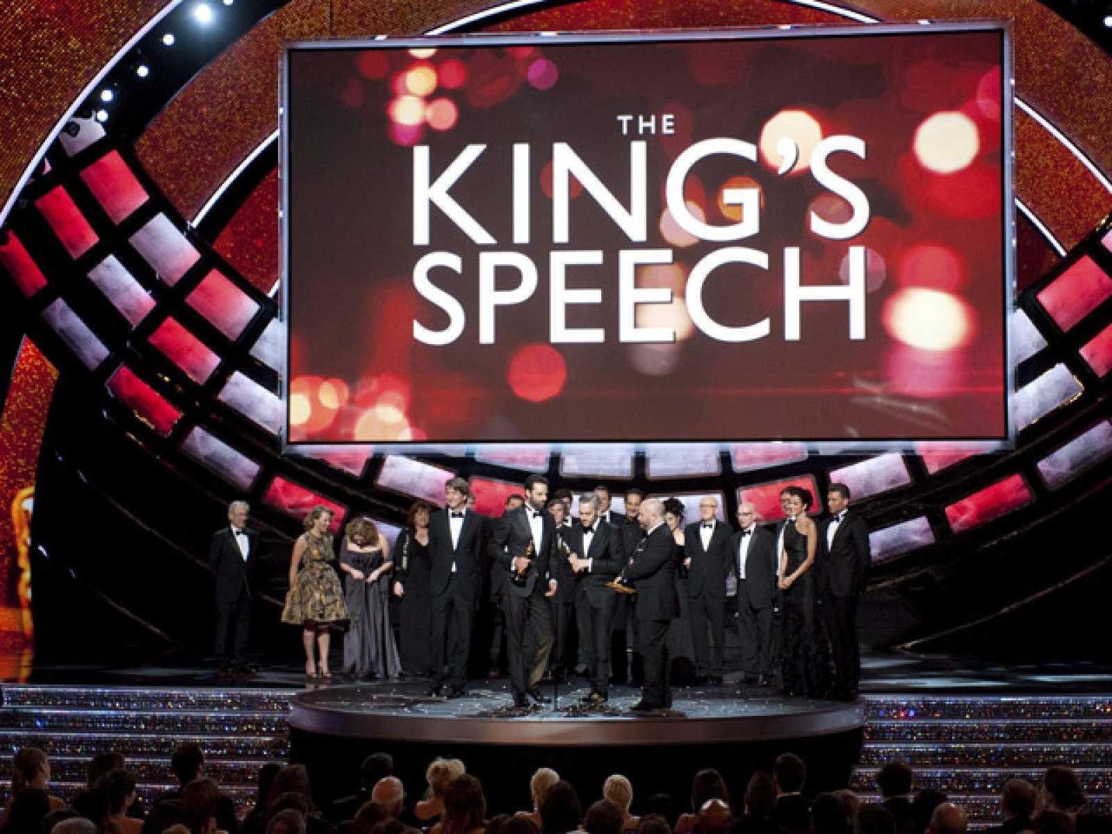 'El discurso del rey' triunfa en los Oscar