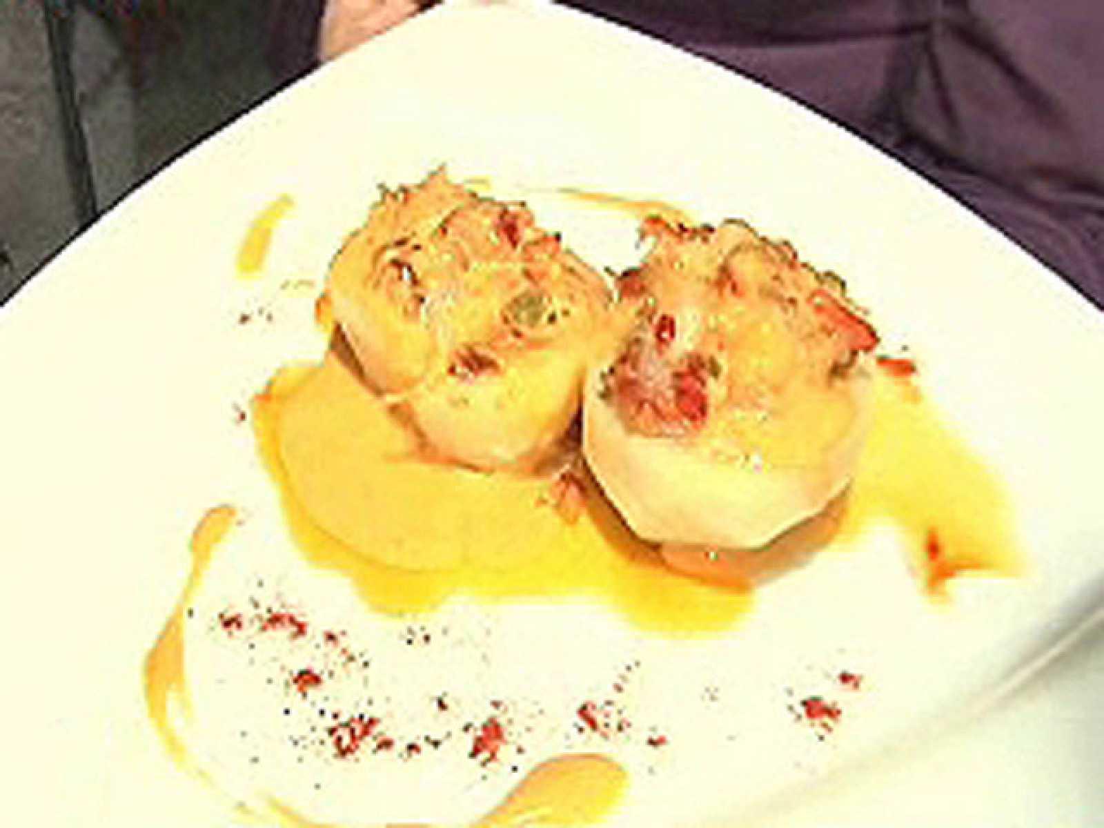 España Directo - Patatas rellenas de bacalao