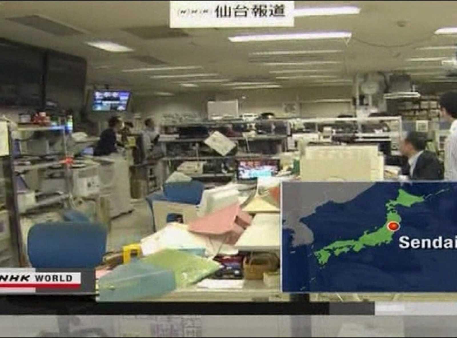 En la zona más afectada por el terremoto de Japón hay cuatro españoles