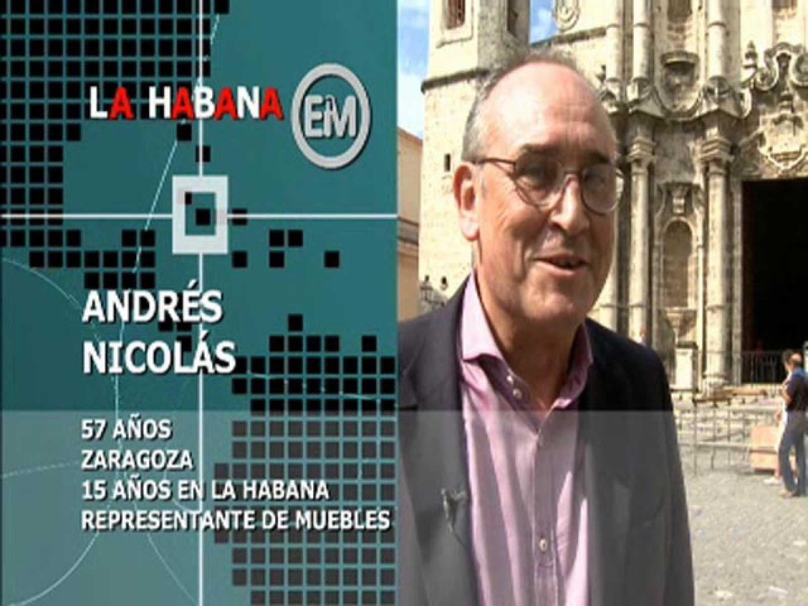 Españoles en el mundo - La Habana - Andrés