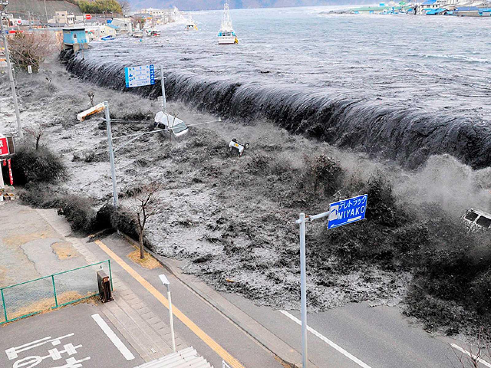 Resultado de imagen para Tsunami en Japón