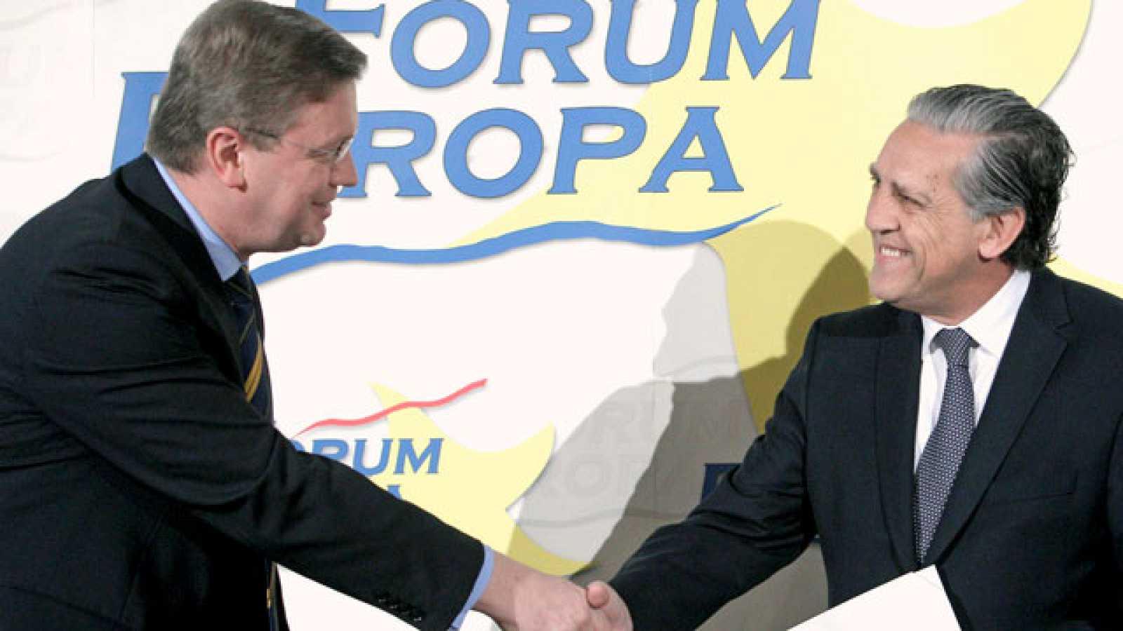 """El secretario de Estado para la Unión Europea Diego López Garrido señala que España es """"una economía muy distinta"""" de Portugal y señala la fortaleza de España después de las medidas que se están llevando a cabo"""