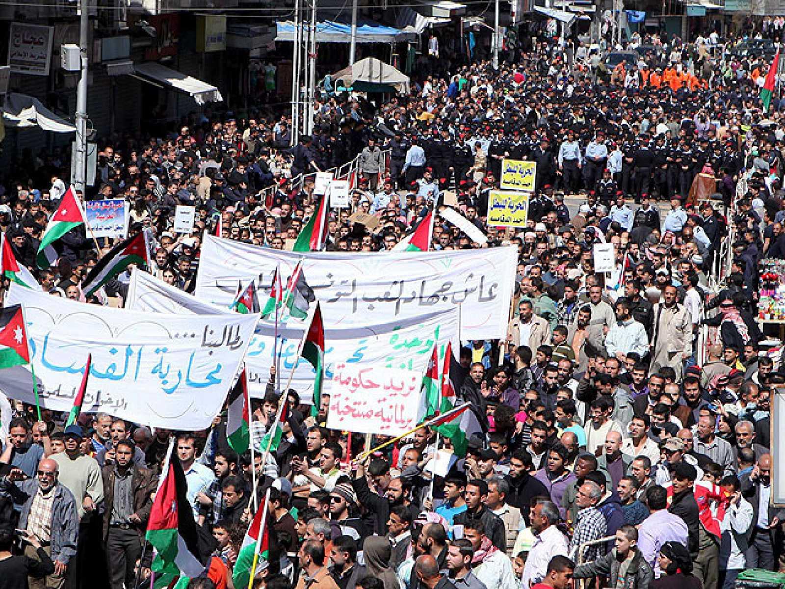 Jordania, Siria, Yemen y Baréin viven un nuevo viernes de intensas protestas
