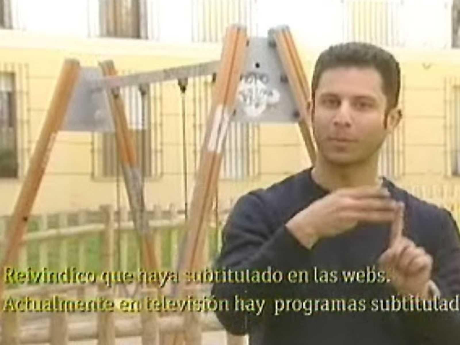 """""""Reivindico subtítulos para la web"""""""