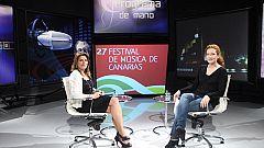 Programa de mano: Entrevista con la directora del Festival de Música de Canarias